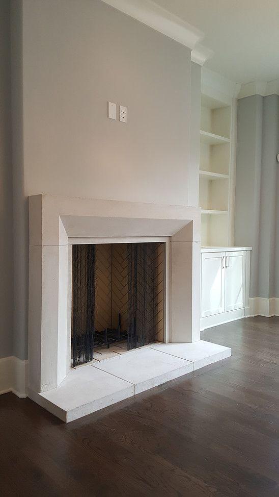 Atlanta - Cast Stone Hoods and limestone fireplace custom products | Fireplace Surrounds