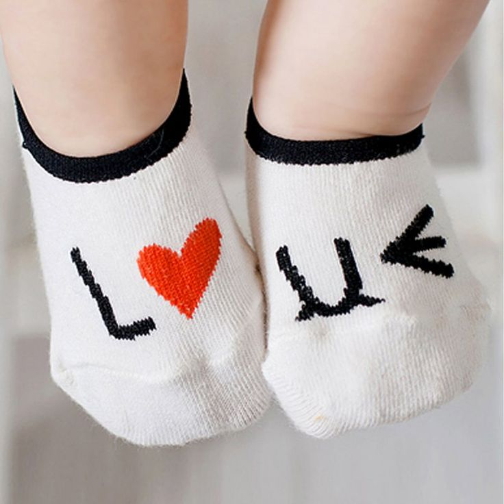 >> Click to Buy << Cute Kid Baby Girl Cotton Love Print Anti-slip Ankle Socks Newborn #Affiliate