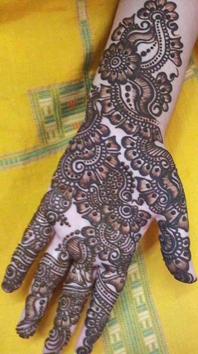 Arabic Mehndi Designs 2014 11