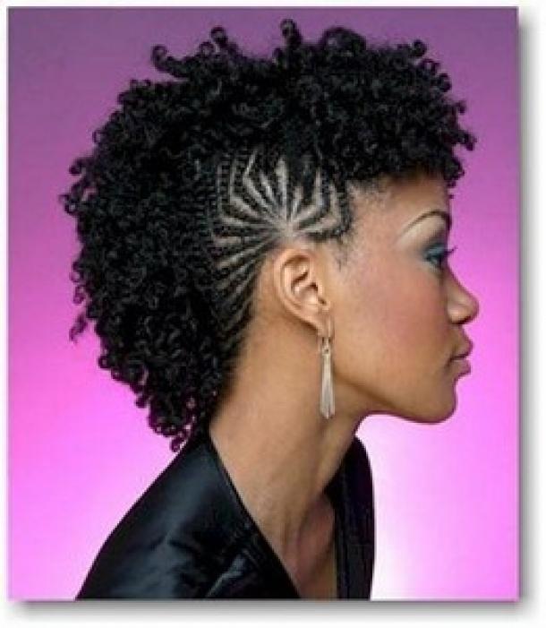 Cute Fabulous Braided Mohawk Hairstyles 12