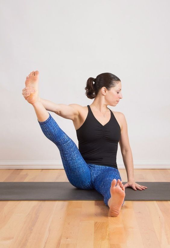 You're not alone. Tight hamstrings are as common as having to wear glasses, but you can do something about it, like trying this yoga sequence.
