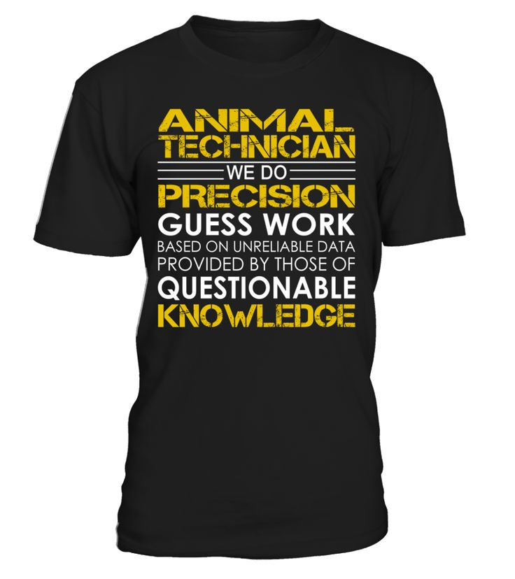 Animal Technician - We Do Precision Guess Work