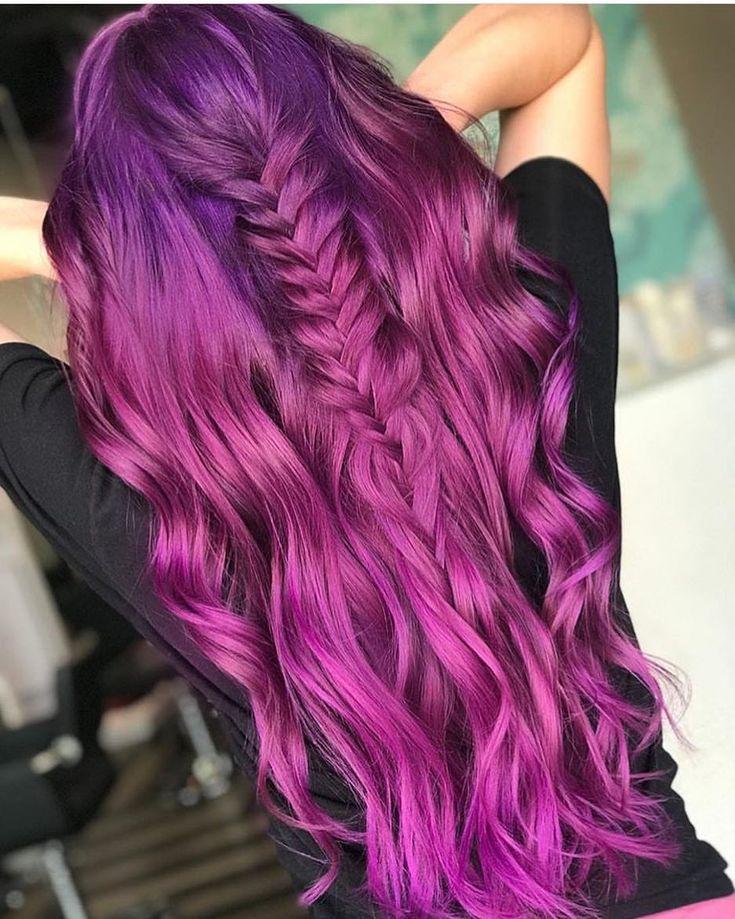 Best 25 Funky Hair Colors Ideas On Pinterest Fantasy