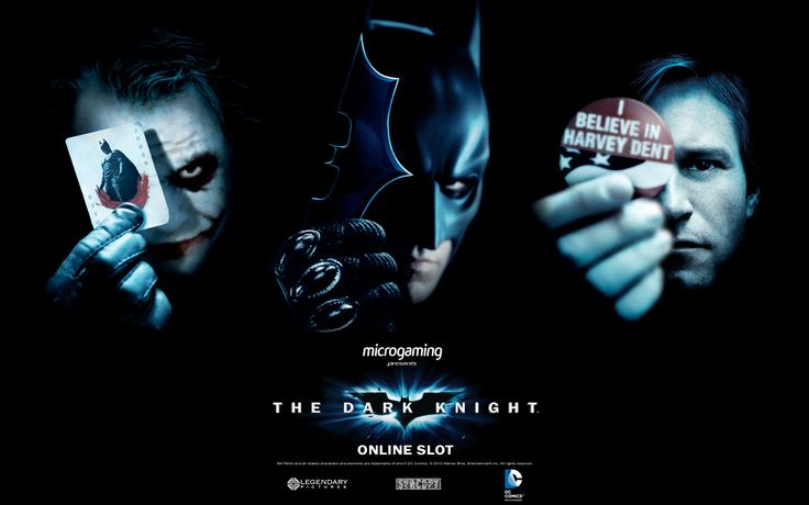 The Dark Knight Online Slot Game