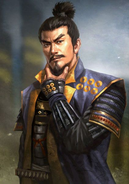 "Sanada Masayuki.  One of the ""24 Generals of the Takeda clan.""  A wily strategist and a good soldier from a clan of survivors - the Sanada were subjugated by Takeda Shingen and were to serve him loyally until the fall of the Takeda clan.  On their own, the Sanada managed to play every side against each other and to have men on both sides.  In this way, they managed to survive against the odds.  Masayuki is best known for delaying a force 10 times his size during the Sekigahara campaign."