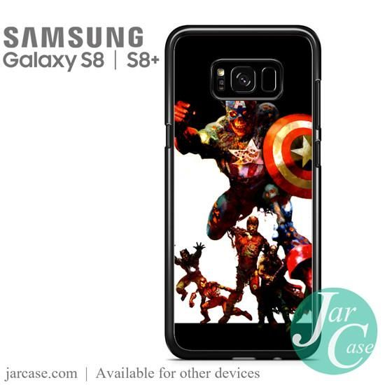 The Avengers Zombie Phone Case for Samsung Galaxy S8