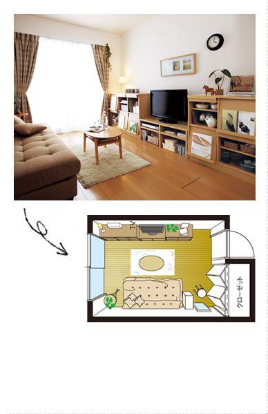 【ニッセン】一人暮らし・ワンルームレイアウト間取り集!