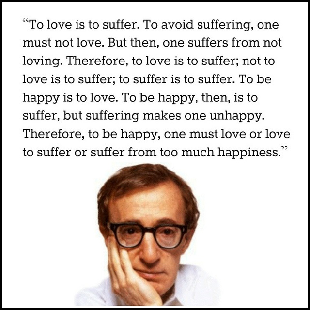 Film Director Quote - Woody Allen - Movie Director Quote #woodyallen
