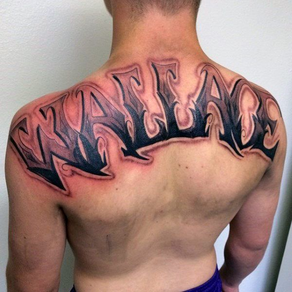 50 Last Name Tattoos For Men Honorable Ink Ideas Names Tattoos