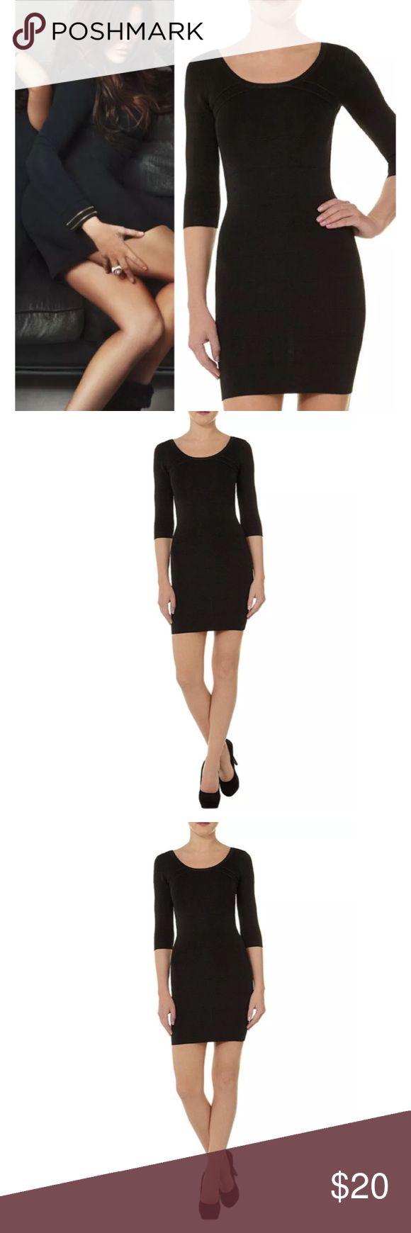 Kardashian Kollection Black Bandage Bodycon Dress UK size 16, US size 12 Kardashian Kollection Dresses Mini