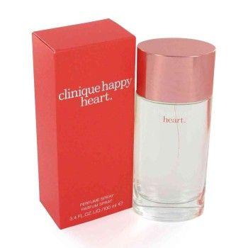 Clinique Happy Heart is een damesgeur uit 2003 met in de top mandarijn, cassia en komkommer, in het hart wortel en water hyacint en in de basis blonde houtsoorten en sandelhout. Vluchtig door zijn waterige karakter