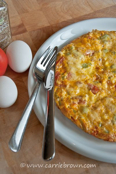 Sweet Pepper and Tomato Frittata » Carrie Brown | Marmalade and ...