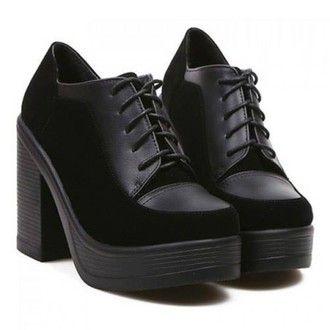 Platform Oxford heels