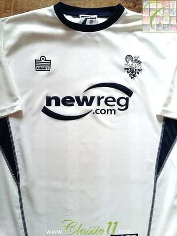 Relive Preston North End's 2003/2004 season with this original Admiral home football shirt.