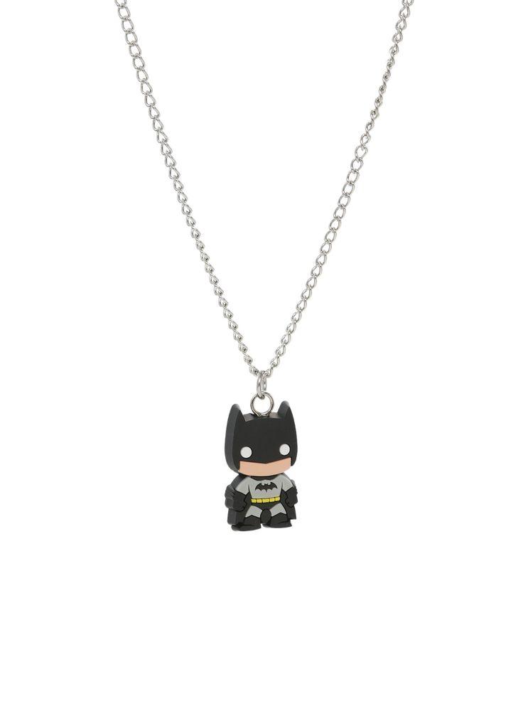 DC Comics Pop! Heroes Batman Necklace | Hot Topic