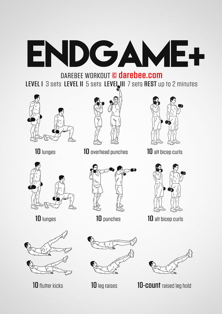 Endgame Plus Workout - Concentration - Full Body