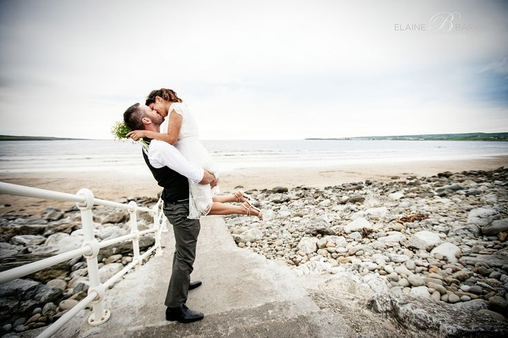A gorgeous beach wedding in Lahinch Co. Clare.