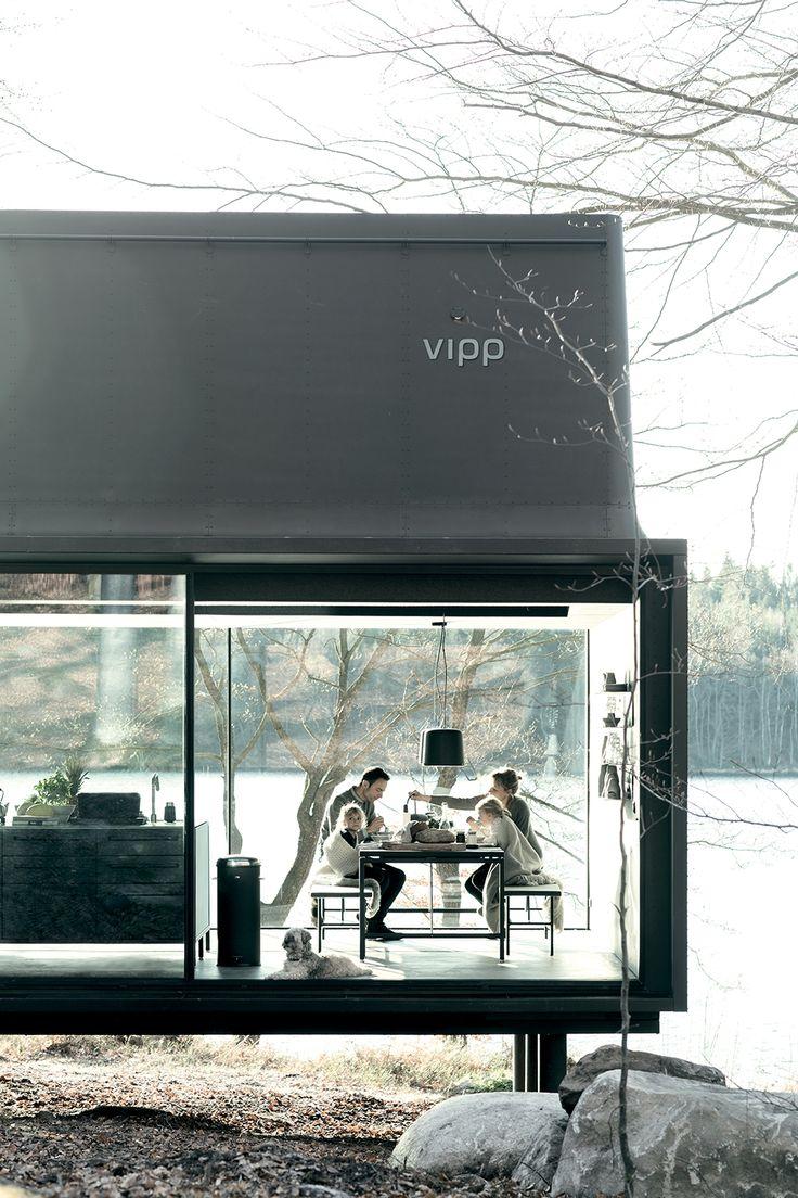 dining room de la maison Vipp livrée en Kit