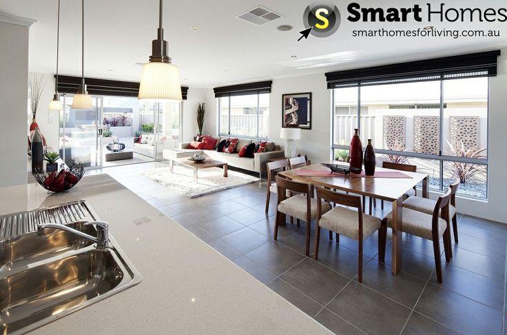 26 best Smart Open Plan Designs images on Pinterest | Home design ...