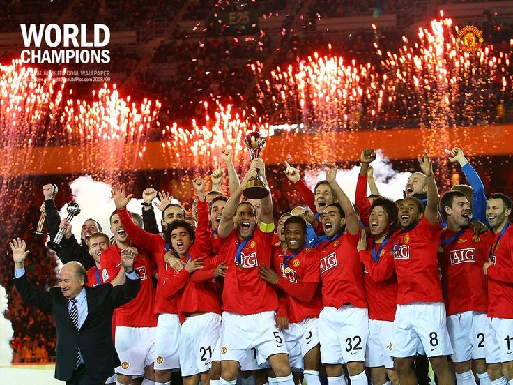 When they won the Club World Cup in 2008
