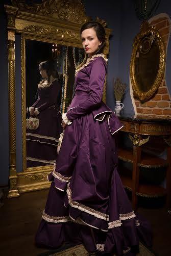 XIXth century dress