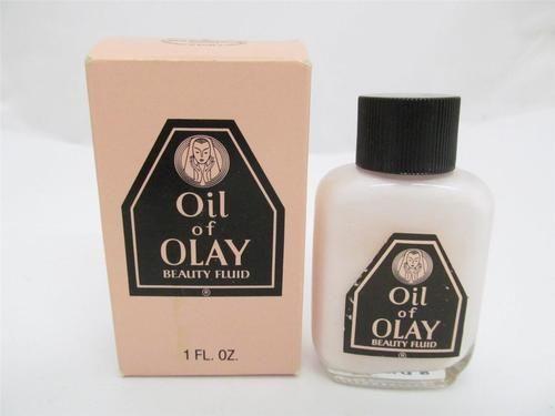 Vintage Oil of Olay Beauty Fluid 1 oz Glass Bottle Purse Travel Size EX | eBay