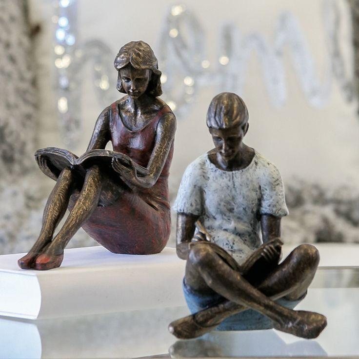 Skulptur/ Buchstütze