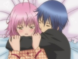 shugo chara ikuto and amu- I want him to hold me like that. D: