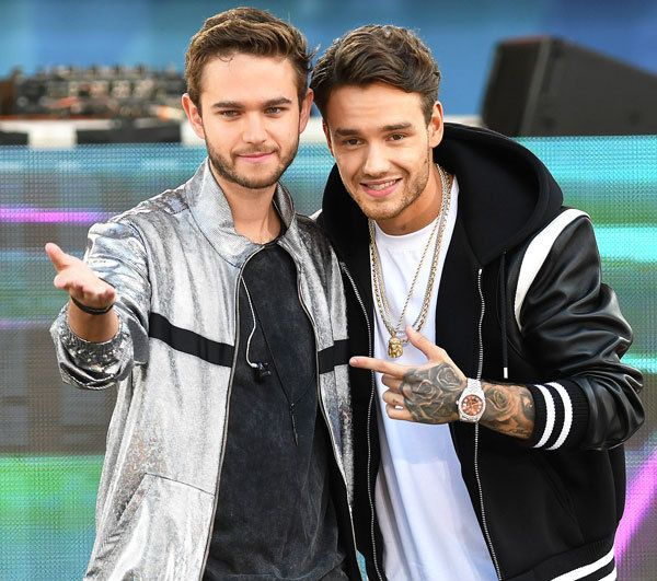 "thedailypayne: ""Liam and Zedd on Good Morning America - 21/7 """