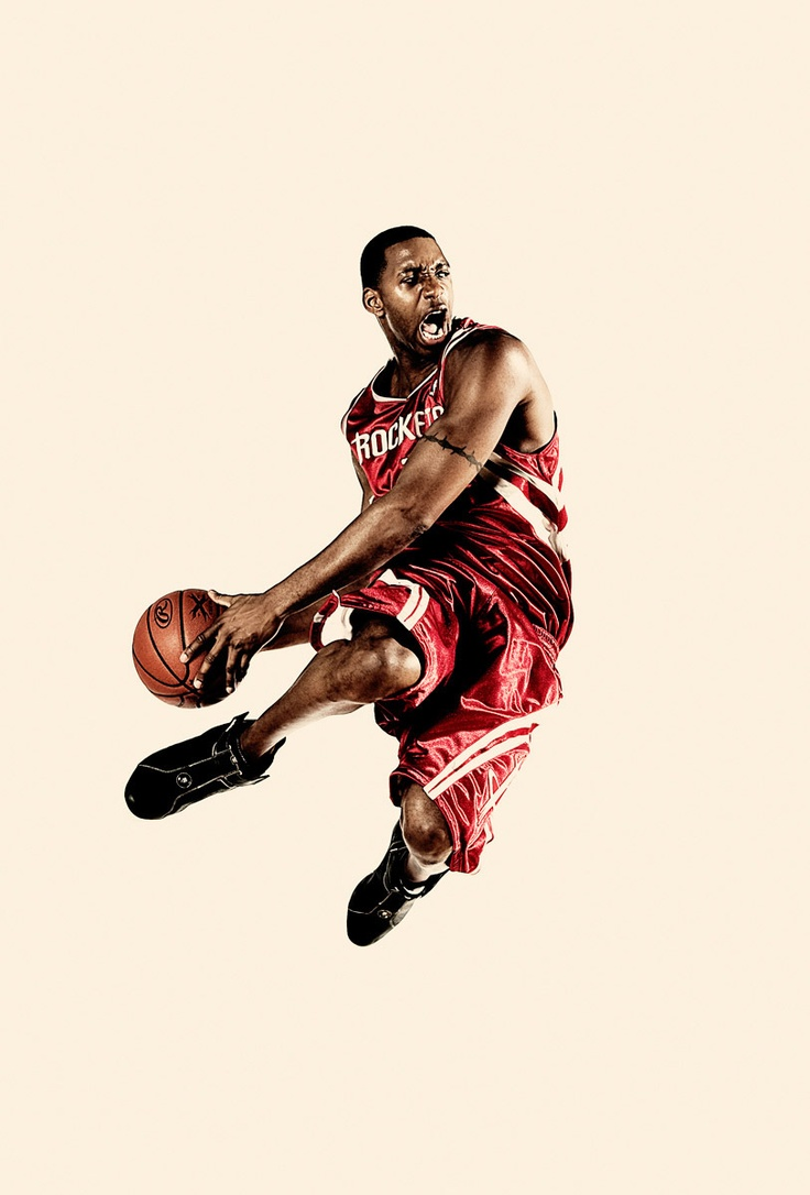 Tracy McGrady | by Steve Bonini
