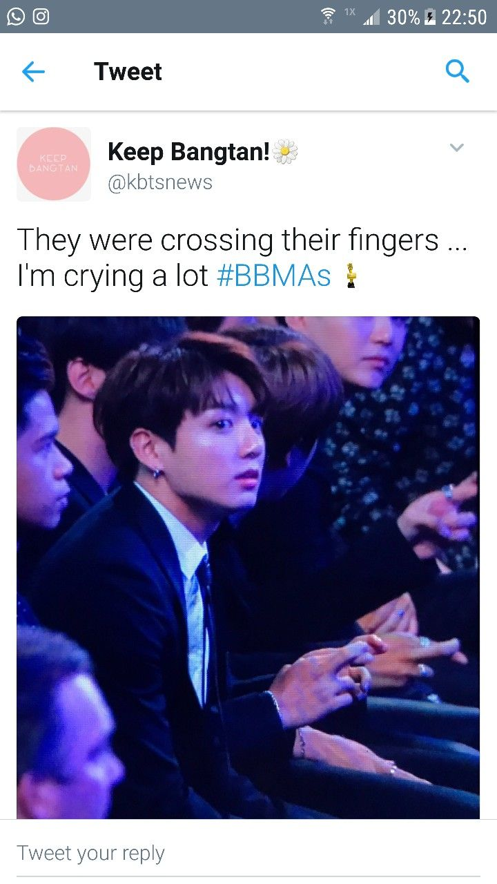 They probably didn't even know how many votes they got prior because they don't check the bbmas stats ❤️