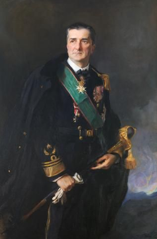Admiral Miklós Horthy, Regent of Hungary 1927, by Phillip de Laszlo.