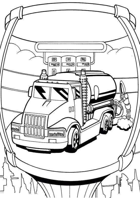 Hot Wheels Monster Truck Colouring
