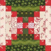 Chimneys and Cornerstones Quilt Pattern: A Log Cabin Quilt Design Variation