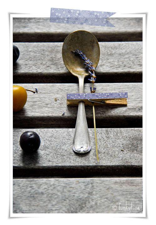 Fall Table Decor #lavender