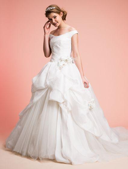 ウエディングドレス、高品質な結婚式ドレスならW by Watabe Wedding