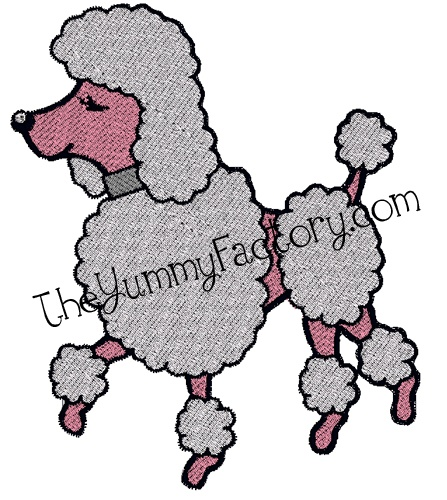 Poodle Skirt Tutorial Including In The Hoop Applique Or Fill Stitch 2 Sizes Machine Embroidery Fonts And Projects