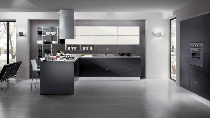 кухня в стиле хай тек (high tech kitchen design)