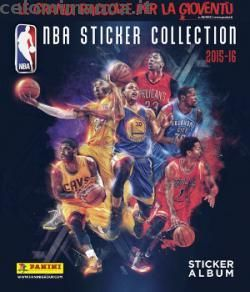Copertina NBA Sticker Collection 2015-16