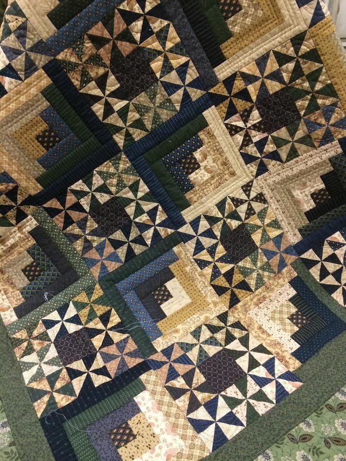 Woodlands quilt by Jo Morton