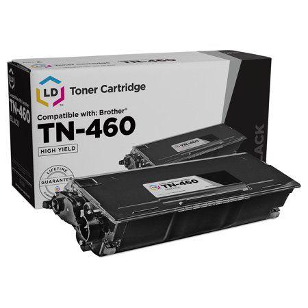 LD © Compatible TN460 High Yield Black Laser Toner cartridge Unit (TN-460), 6,000 Pages