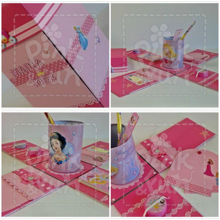 Caixa Princesa - trabalho realizado pela Pink&Fun