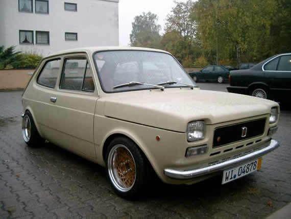 The amazing beige Fiat 127   Retro Rides