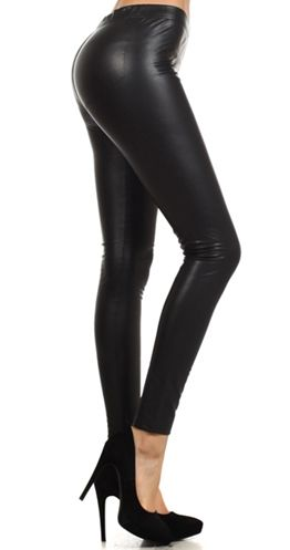 Veronica Legging - Fleece Lined $30.00 CAD ESTIMATED SHIP DATE: This item is NOT in stock. Estimated ship date is Monday, October 13, 2014. Vegan leather (fancy way of saying faux) Opaque with maximum coverage Soft fuzzy flecce lining on the inside Matte (not furry) on the outside Stay warm (not hot) without the bulkiness Footless tights Wash on cold hang to dry
