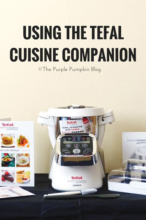 Using The Tefal Cuisine Companion - is this kitchen gadget which claims to replace up to 10 appliances in your kitchen, worth the price tag? See what we cooked with the Companion, and what we thought when we reviewed it. http://www.thepurplepumpkinblog.co.uk/2016/04/using-the-tefal-cuisine-companion.html