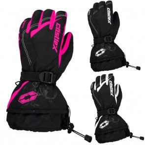 Castle X Legacy Womens Snowmobile Skiing Winter Sled Snowboard Gloves