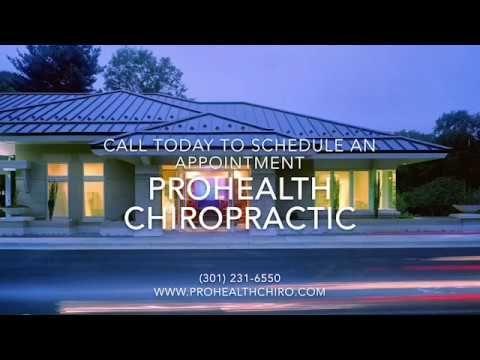 Rockville Chiropractor - ProHealth Chiropractic Wellness Center