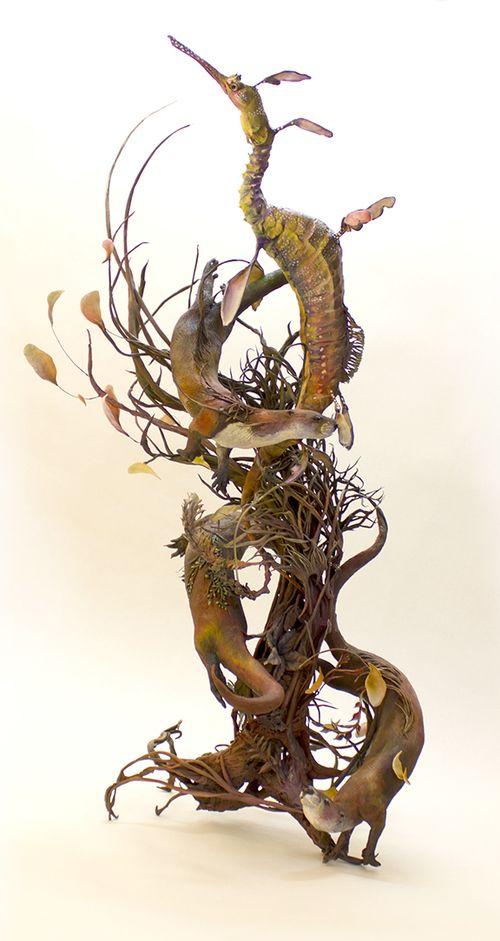 Ellen Jewett Sculpture - weedyseaddrgaon2