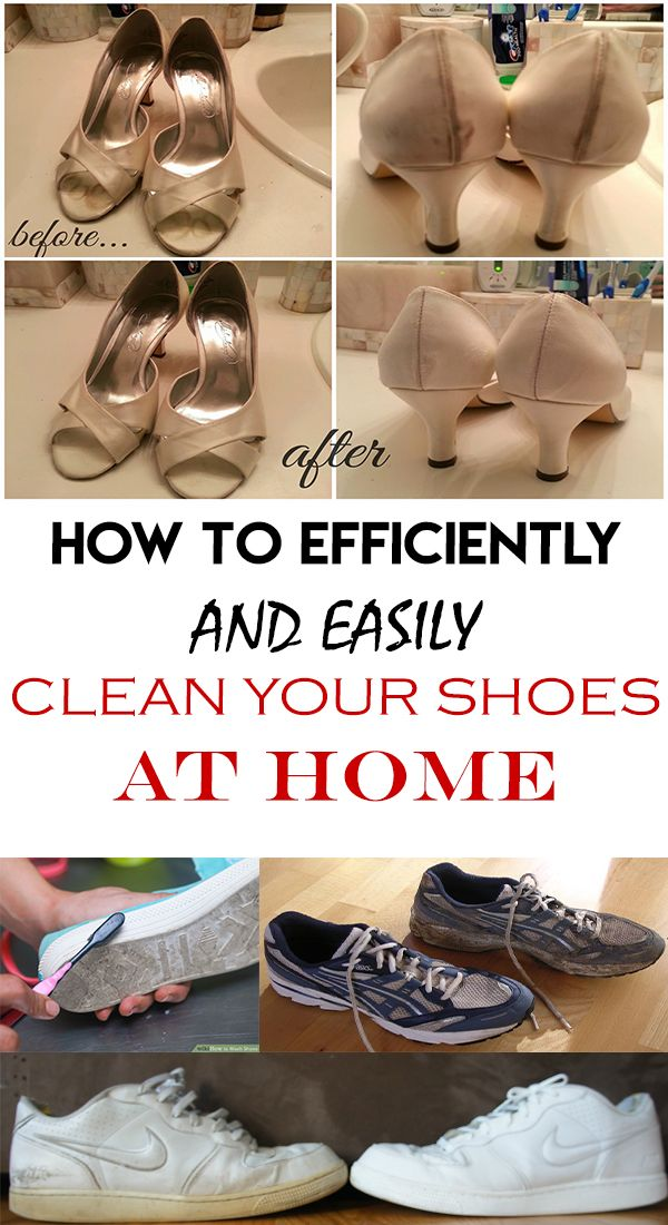 How to efficiently and easily clean your shoes at home