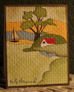 Gypsey's Picnic Scene! by Mothermark - Cards and Paper Crafts at Splitcoaststampers